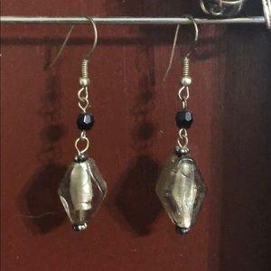 Jewelry - FREE W BUNDLE Handmade glass beaded earrings